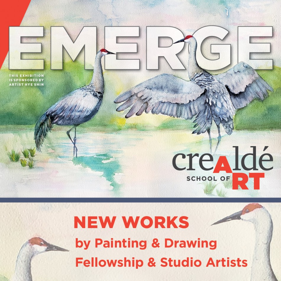 Emerge: New Works by Painting & Drawing Fellowship & Studio Artists