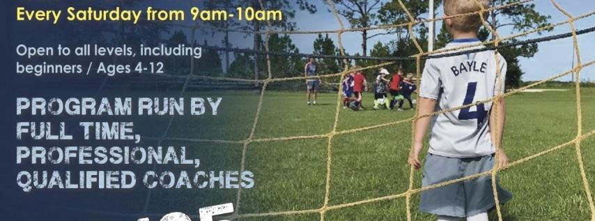 Saturday Soccer Fall Program - Sept 22 - Nov 10, 2018