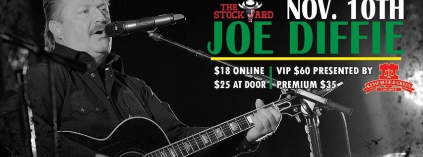 Joe Diffie Live at The Stockyard