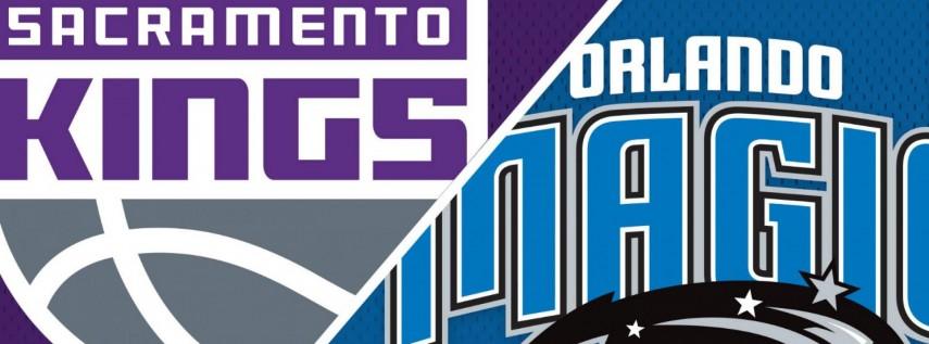 Orlando Magic vs. Sacramento Kings