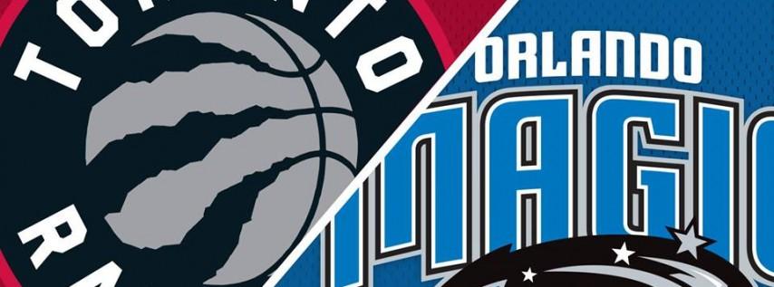 Orlando Magic vs. Toronto Raptors