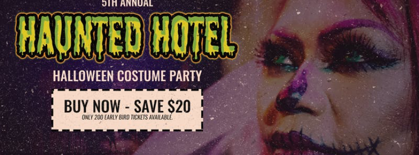 Haunted Hotel V Halloween Costume Party - Aloft Tampa
