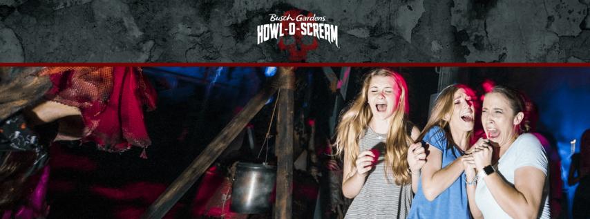 Busch Garden's Howl-O-Scream