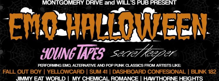 EMO HALLOWEEN at Will's Pub