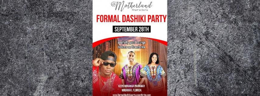 FORMAL DASHKIK PARTY