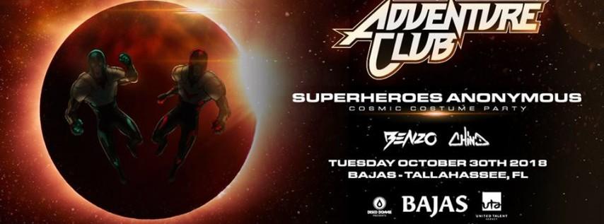 Adventure Club – Superheroes Anonymous