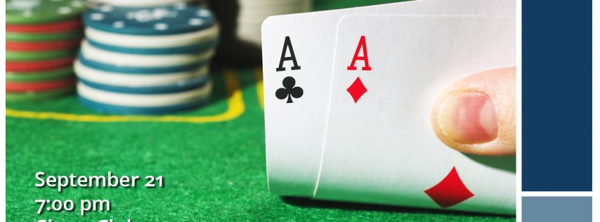 Texas Hold 'Em Fundraiser