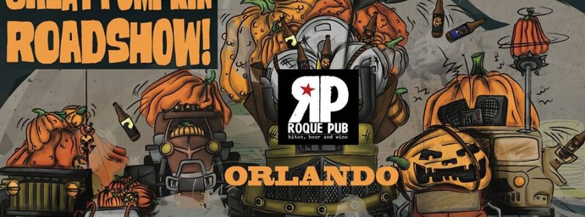 Elysian Brewing Pumpkin Roadshow Orlando at Roque Pub