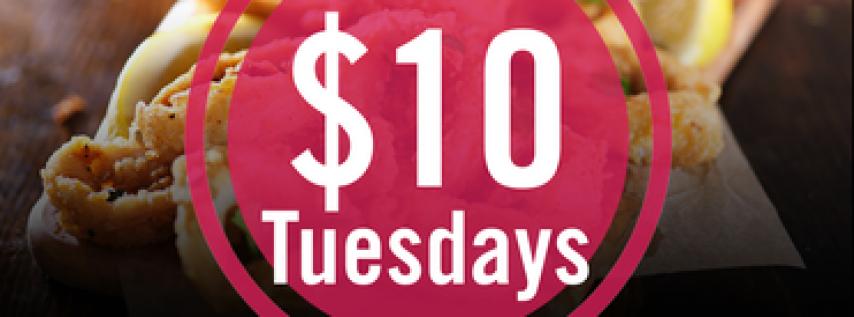 $10 Tuesdays