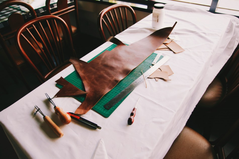Leather Pouch Making