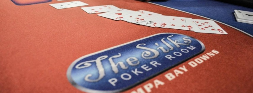 $10,000 Guaranteed Tournament- BB Ante at Silks Poker Room