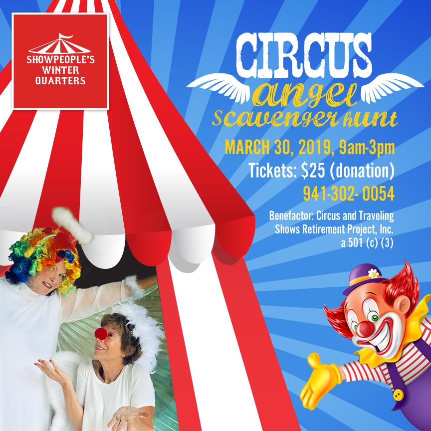 Circus Angel Scavenger Hunt