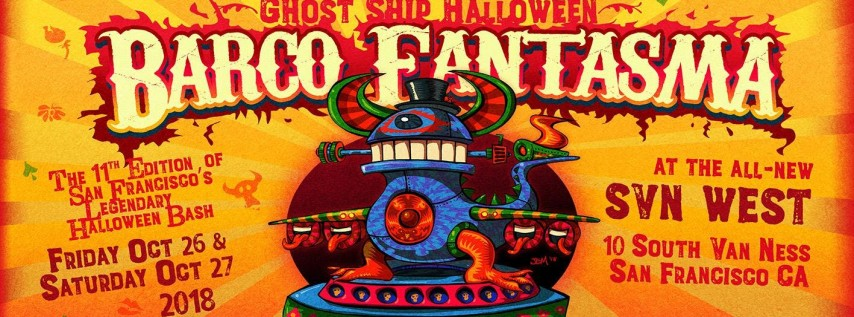 Ghost Ship Halloween: Barco Fantasma