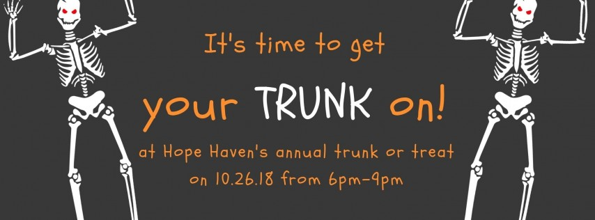 Hope Haven's Trunk or Treat