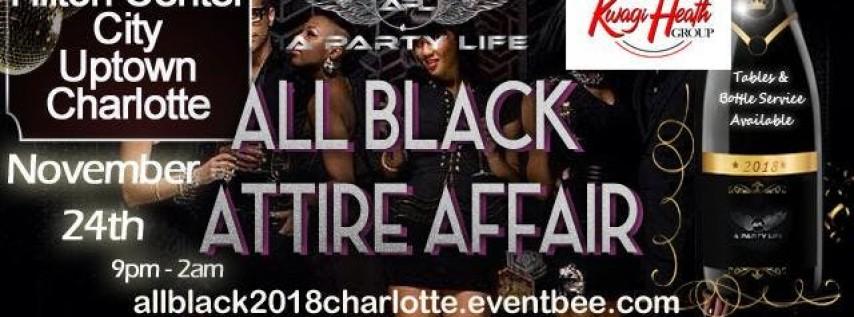 The All Black Attire Affair