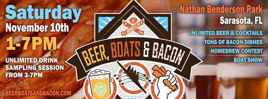 Beer, Boats & Bacon 2018