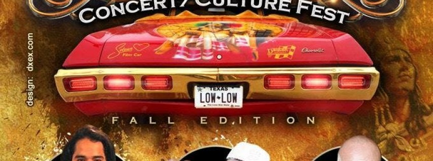 Low Low Car Show Concert/Culture Fest 12th Annual