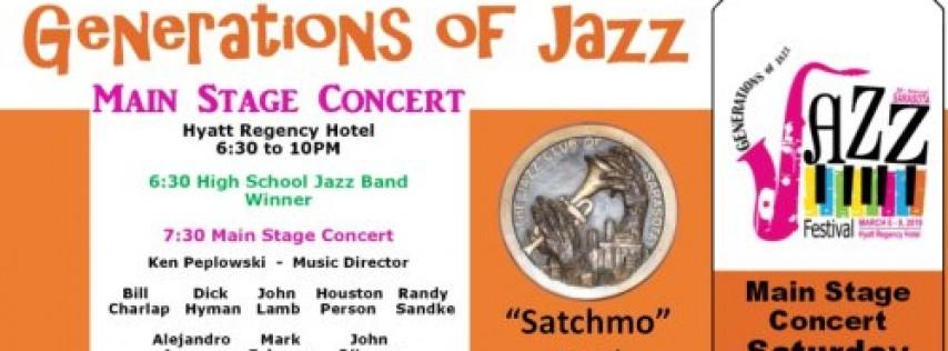 Sarasota Generations of Jazz Festival - Sat. Evening Main Stage Concert
