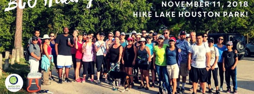 BCO Hiking in Houston - Hike Lake Houston Park!