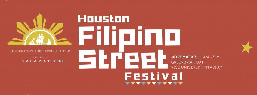 2018 Houston Filipino Street Festival Volunteers (HFSF)