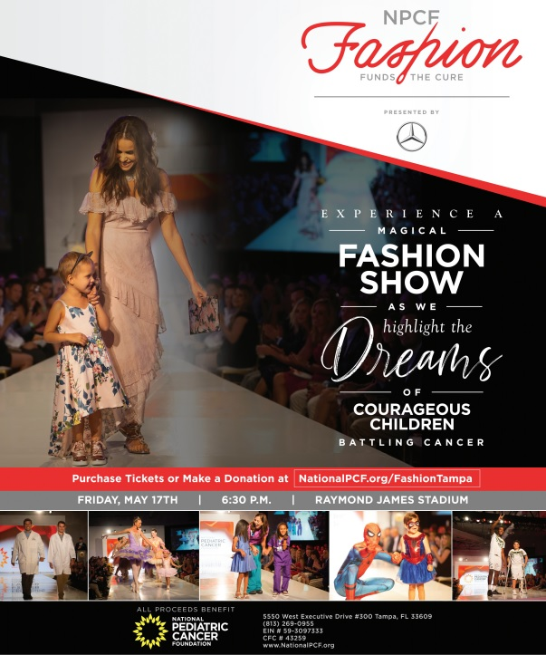 National Pediatric Cancer Foundation Hosts Fashion Funds the Cure