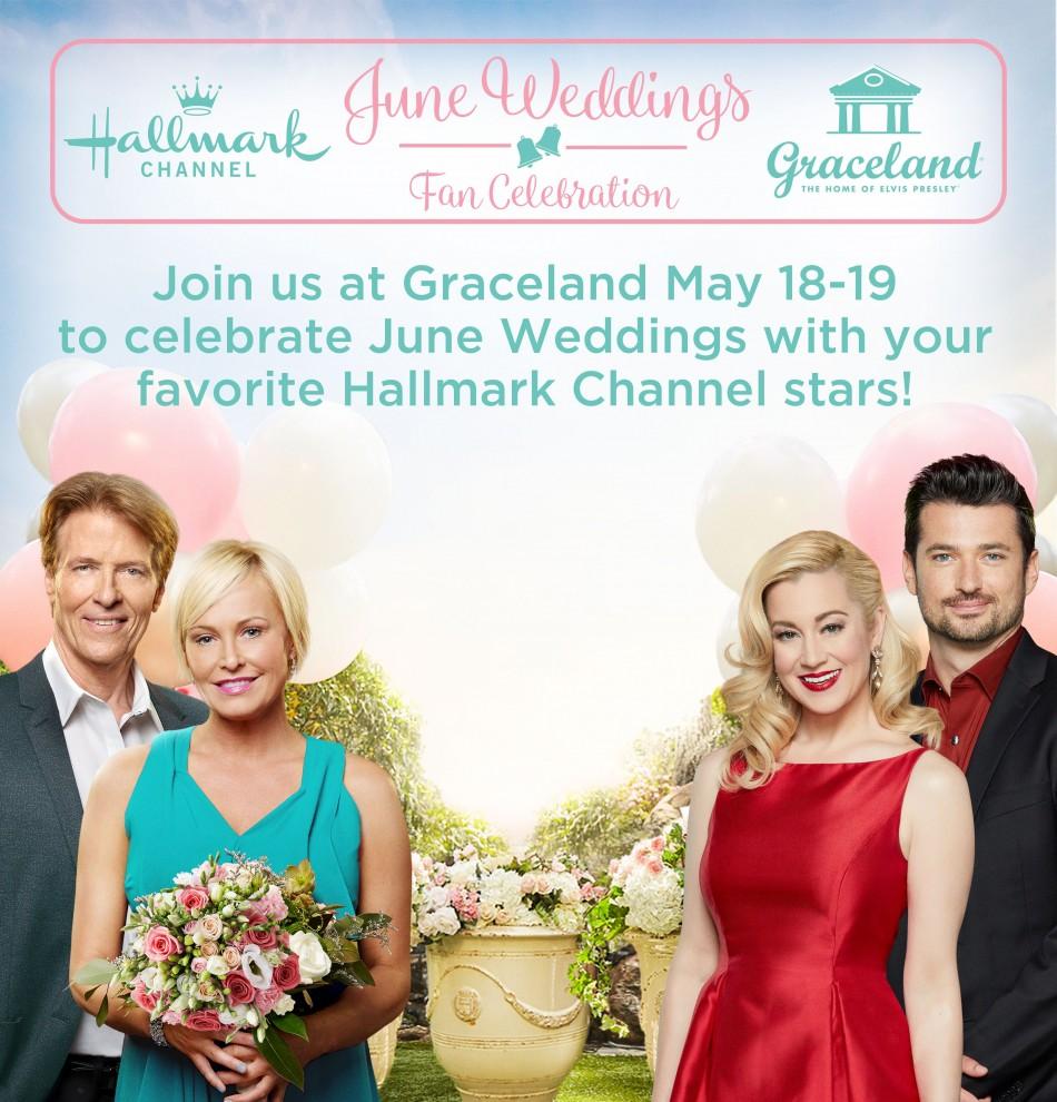 Hallmark Channel's June Weddings Fan Celebration at Graceland