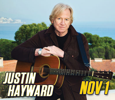 Justin Hayward at The Guest House Theater at Graceland
