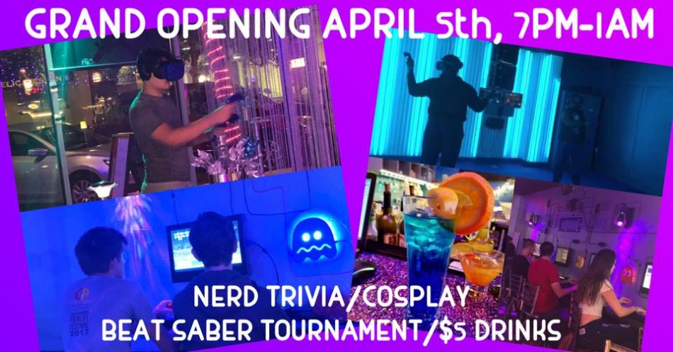 Escape Reality Downtown Sarasota VR BAR GRAND OPENING!