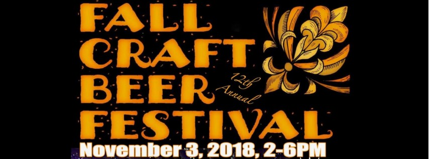 12th Annual Fall Craft Beer Festival