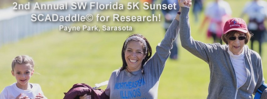 2nd Annual SW Florida 5K Sunset SCADaddle for Research