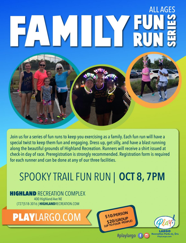 Spooky Trail Fun Run