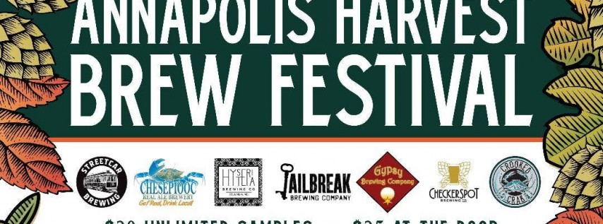 Annapolis Harvest Beer Festival 2018