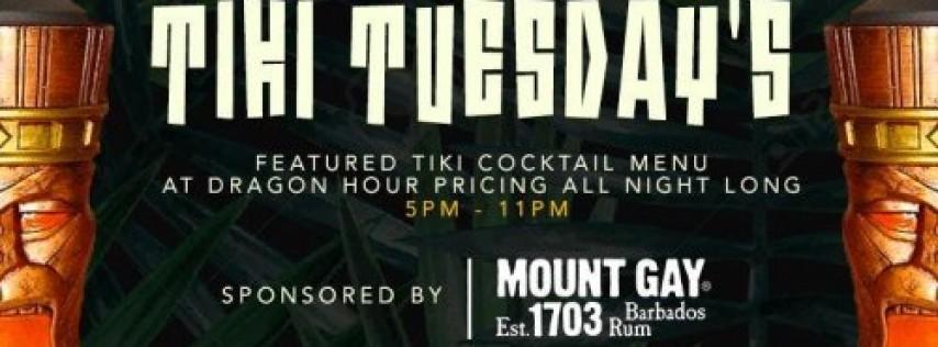 Drunken Tiki Tuesday's at Drunken Dragon