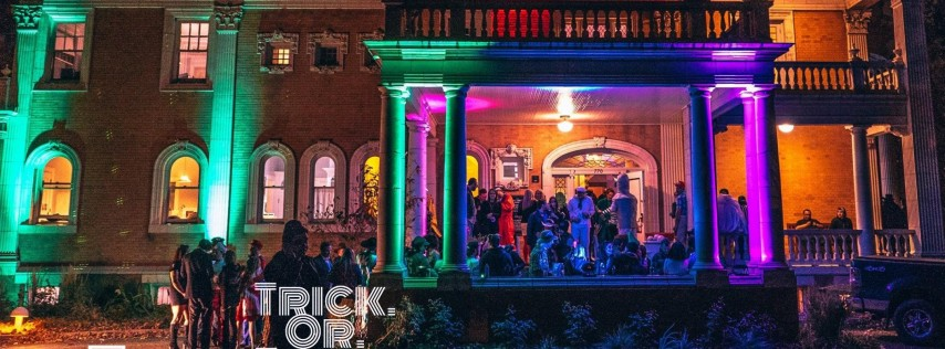 Grant Humphries Annual Haunted Mansion Party!