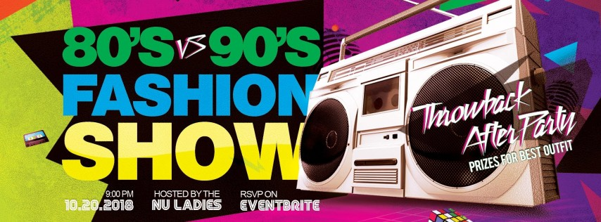 80's vs 90's Throwback Party