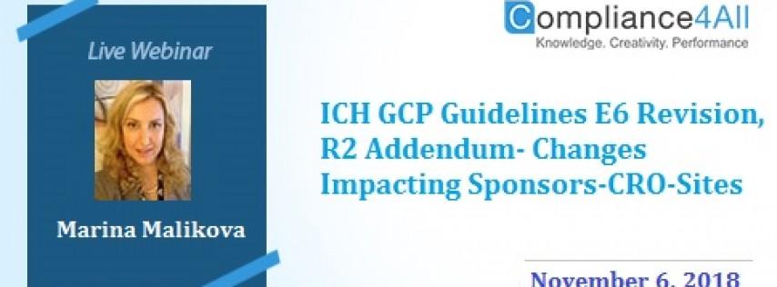 R2 Addendum Changes Impacting Sponsors CRO Sites