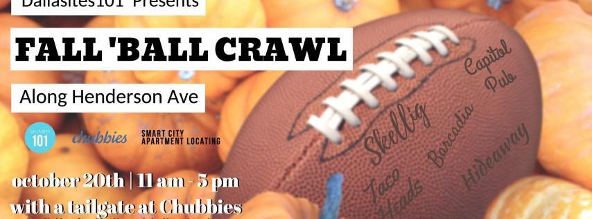 Fall 'Ball Crawl Along Henderson Ave