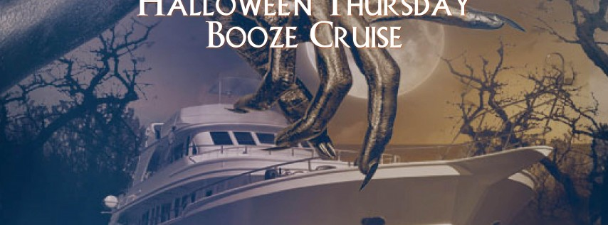 Halloween Thursday Booze Cruise on October 25th!