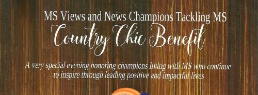 Champions Tackling MS Country Chic Benefit