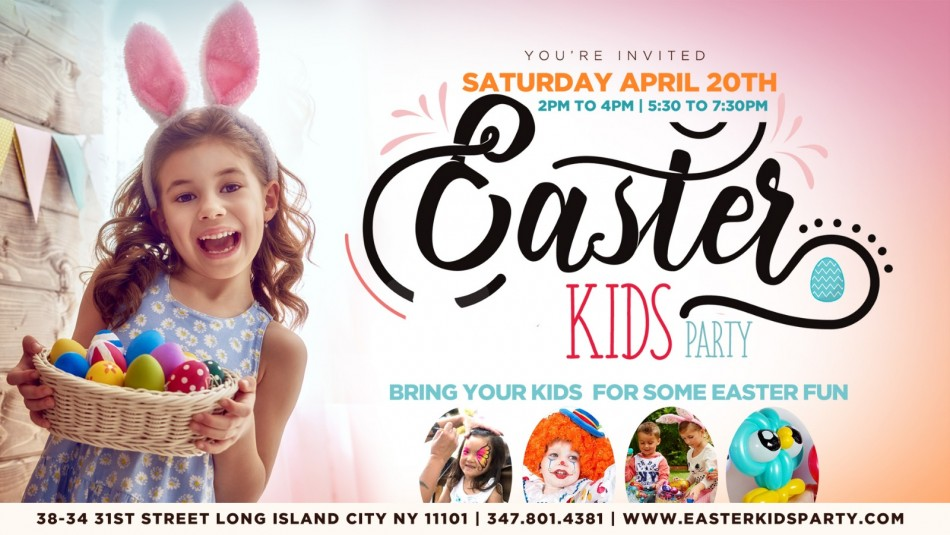 Disco Easter Kids Party