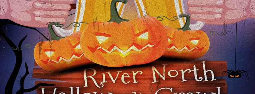 River North Halloween Crawl in Chicago!