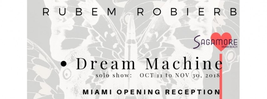 #SagamoreisArt Partners with Taglialatella Galleries for the Miami Debut of Metamorphosis by Rubem Robierb