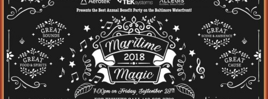 Living Classrooms' 32nd Annual Maritime Magic