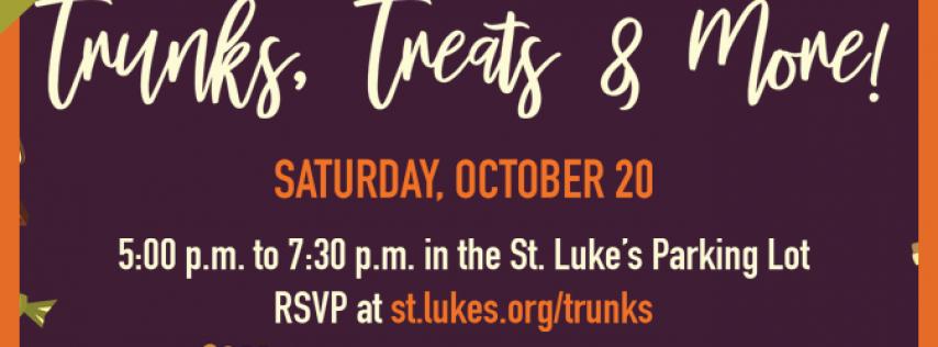 St. Luke's presents Trunks, Treats & More!