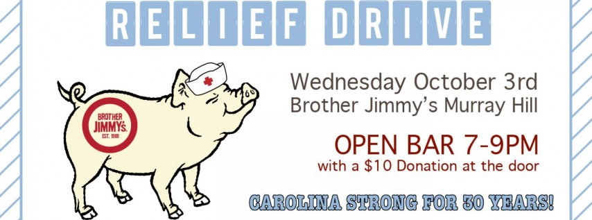 Brother Jimmy's Hurricane Florence Relief Drive