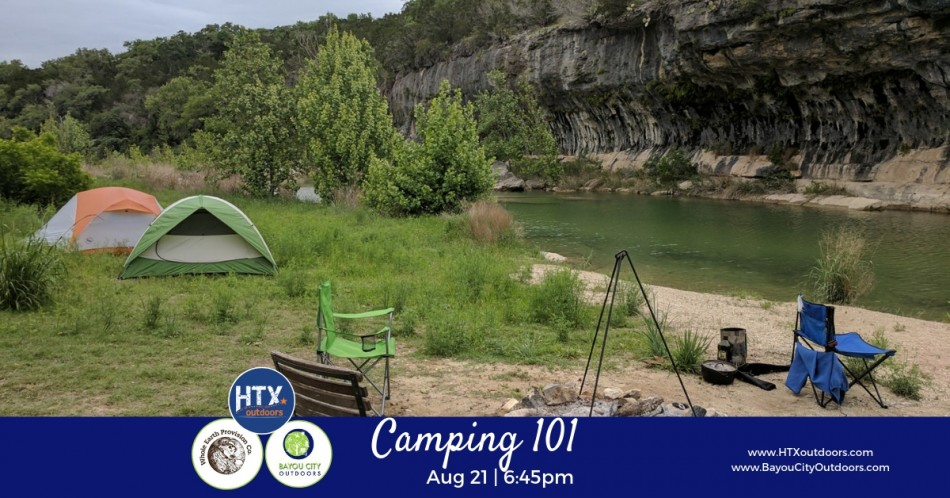 BCO & HTXO Present: Camping 101 (live)