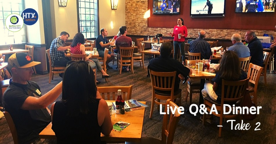 BCO & HTXO Live Q&A Dinner - Take 2