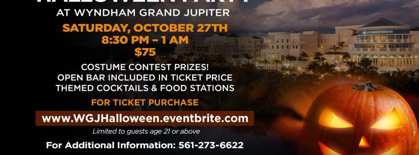 Halloween Party at the Wyndham Grand Jupiter