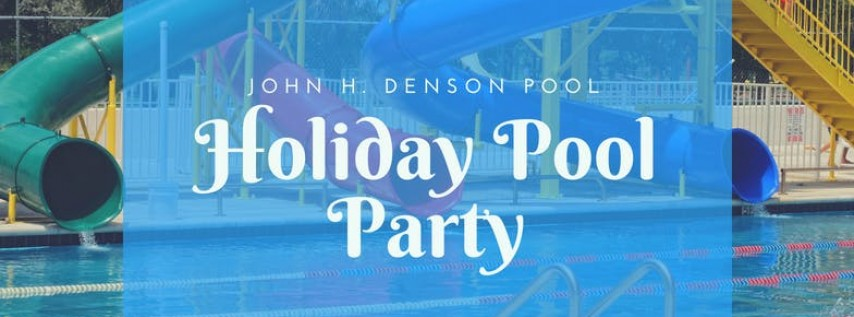 Holiday Pool Party