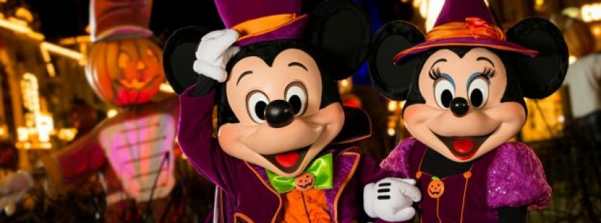 Disney World Orlando Halloween Night